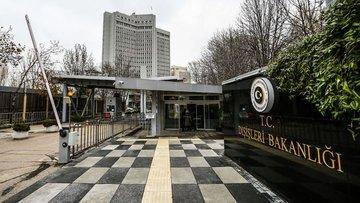 Dışişleri Bakanlığı'ndan Yunanistan'a tepki