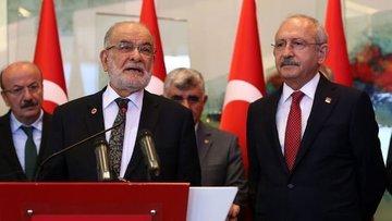 CHP ile Saadet Partisi liderlerinden kritik görüşme sonra...