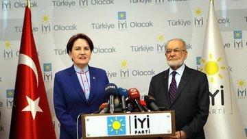İYİ Parti lideri Akşener ile SP lideri Karamollaoğlu görüştü