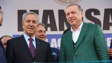 Cumhurbaşkanı Erdoğan Bülent Arınç ile görüşüyor