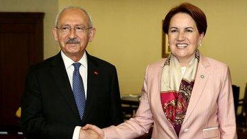Kılıçdaroğlu ile Akşener arasındaki kritik görüşme sona erdi