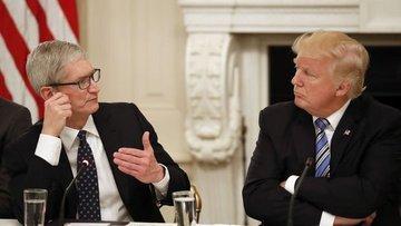 Apple'ın CEO'su Trump ile görüştü