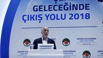 Türk-İş/Atalay: Devlet şekerden elini çekmemeli