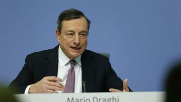 AMB/Draghi: Veriler büyümede ılımlılığa işaret ediyor