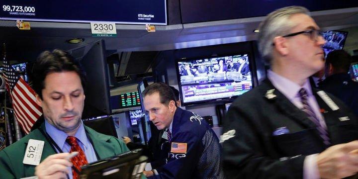 ABD borsaları düşüşe geçti