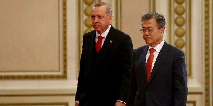 Erdoğan: Korkuları ortadan kaldıran bir görüşme olmuştur