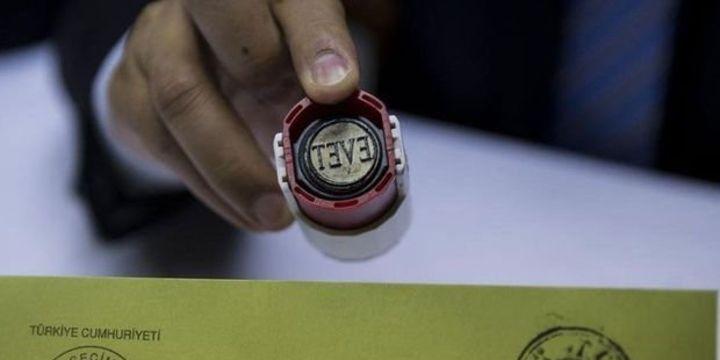 Cumhurbaşkanı adaylarının oy pusulasındaki sıralaması belli oldu