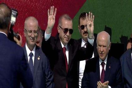 Yenikapı'da Filistin Mitingi başladı