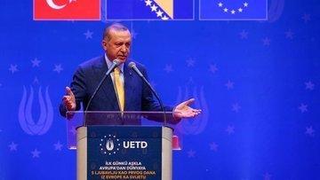 Erdoğan: Avrupa'da yaşayan Türklerin askerliği için çalış...