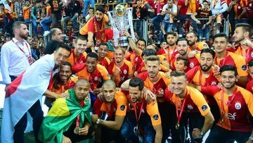 Şampiyon Galatasaray'da sezonun istatistikleri