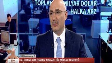 Halkbank/Arslan: Hisse geri alım planımız yok