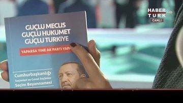 AK Parti'nin seçim beyannamesi açıklanıyor