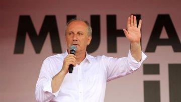İnce: CHP'lilerin değil 81 milyonun Cumhurbaşkanı olacağım