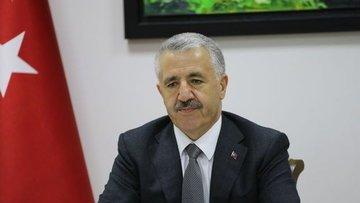 Bakan Arslan: Yeni Havalimanı'nda ilerleme seviyesi yüzde...
