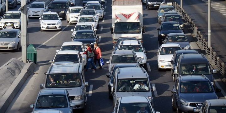 Trafiğe kayıtlı araç sayısı 22 milyon 551 bin 157 oldu