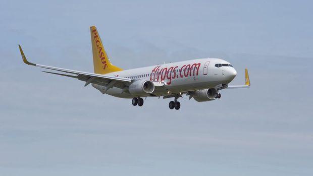 Pegasus yolcu sayısı Mayıs'ta yıllık % 8.9 arttı