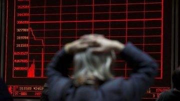 """Çin hisseleri """"ABD vergisi"""" ile 2016'dan beri en sert düş..."""