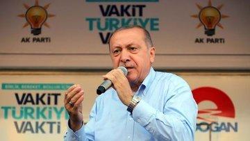 Erdoğan: İttifakımız 300'den az koltuk alırsa koalisyon d...