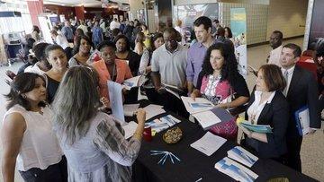 ABD'de işsizlik maaşı başvuruları 4. haftada da düştü