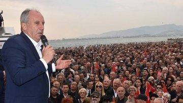 Muharrem İnce İzmir mitinginde vatandaşlara seslendi