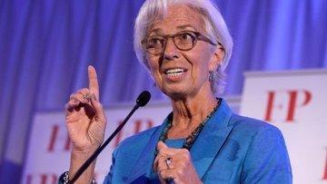 """IMF/Lagarde: Euro Bölgesi'nde """"sert"""" yavaşlama beklemiyorum"""
