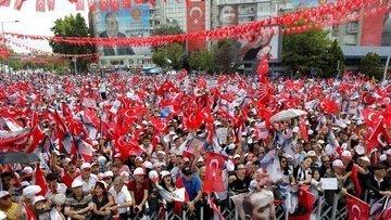 İnce Ankara'da: Bu gördüğüm en sıkışık miting