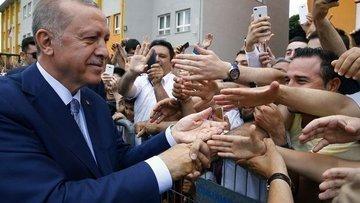 Erdoğan: Bir şey söylemek için erken, iyiyiz