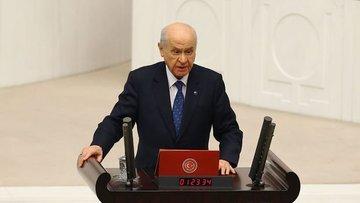 Bahçeli: Piyasalardaki oyunlarla Türkiye'den taviz kopart...