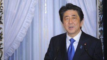 Şinzo Abe: Gümrük vergisi dünya ekonomisine zarar verecek