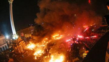 Ukrayna yangın yeri