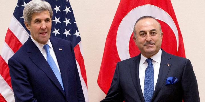 Mevlüt Çavuşoğlu, John Kerry ile buluştu
