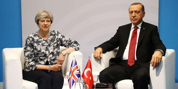 Erdoğan, İngiltere Başbakanı ile bir araya geldi