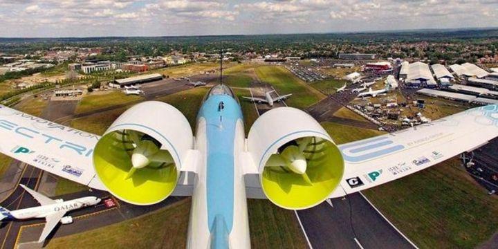 Airbus, Rolls-Royce ve Siemens birlikte hibrit uçak üretecek