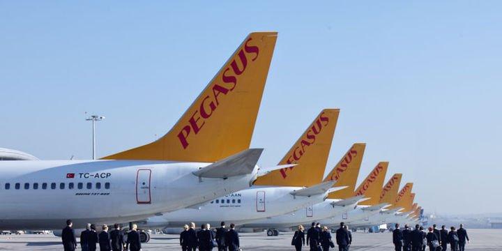Pegasus yolcu sayısının 2018