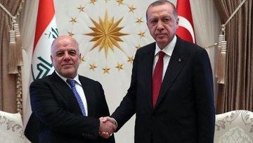 Erdoğan ve İbadi'den açıklamalar